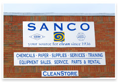 Sanco Clean Chemicals and Paper Supplies